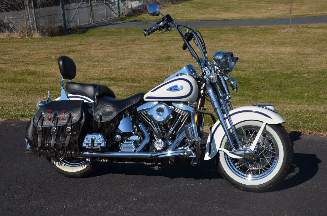 Harley-Davidson FXSTS Springer Softail 1997 images #80007