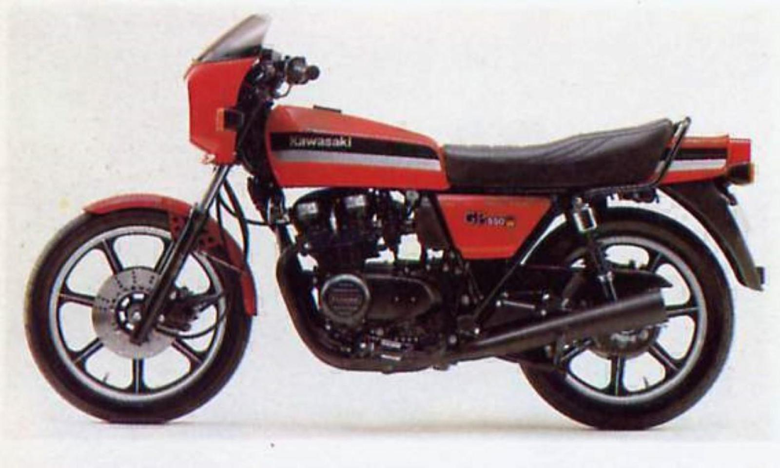 Kawasaki GPZ 550: pics, specs and list of seriess by year ...