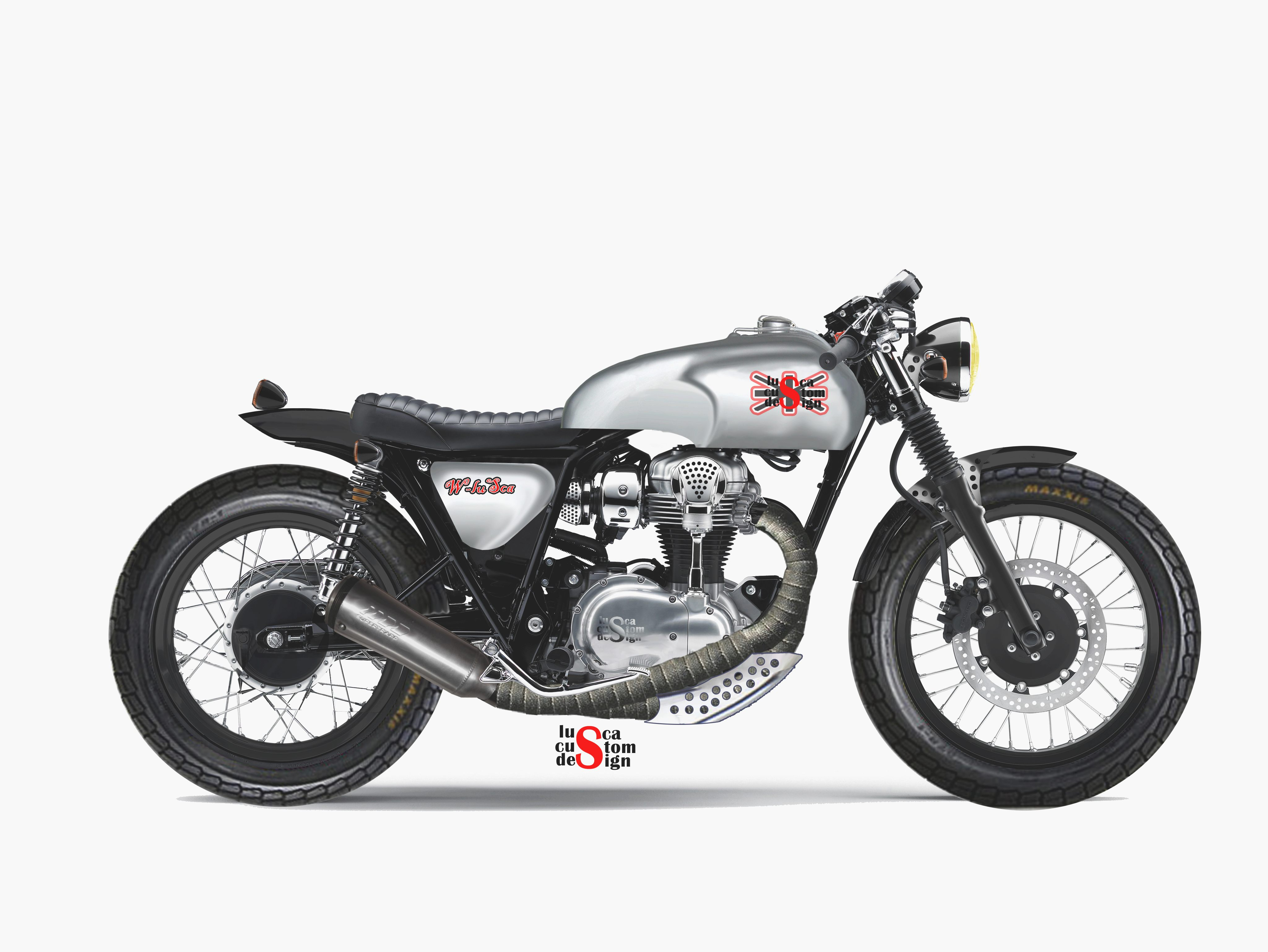 Kawasaki W800 Cafe Style images #86151