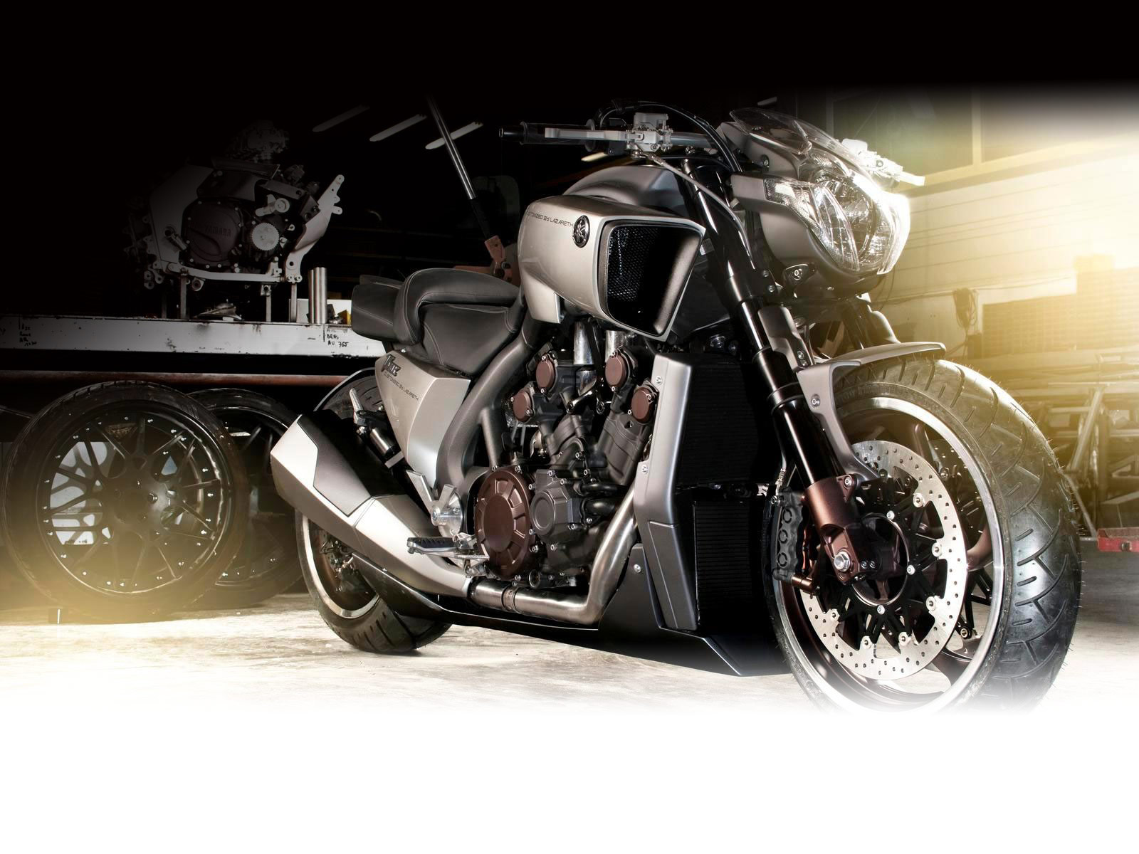 Yamaha VMAX Hyper Modified Marcus Walz 2013 images #92110