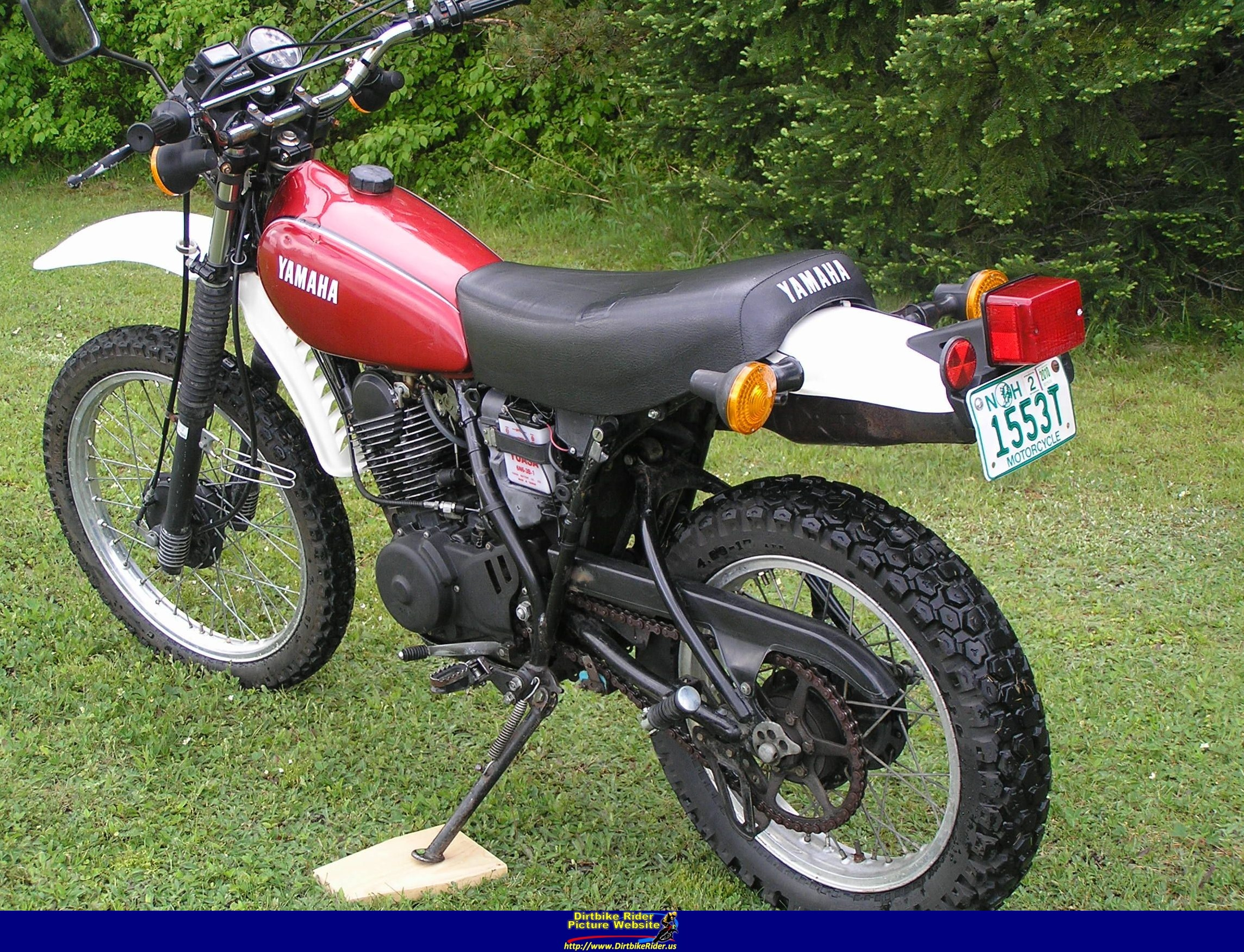 1982 yamaha xt 250 pics specs and information