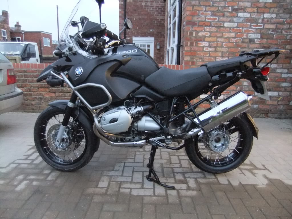 BMW R1200GS Adventure Triple Black 2013 images #8626