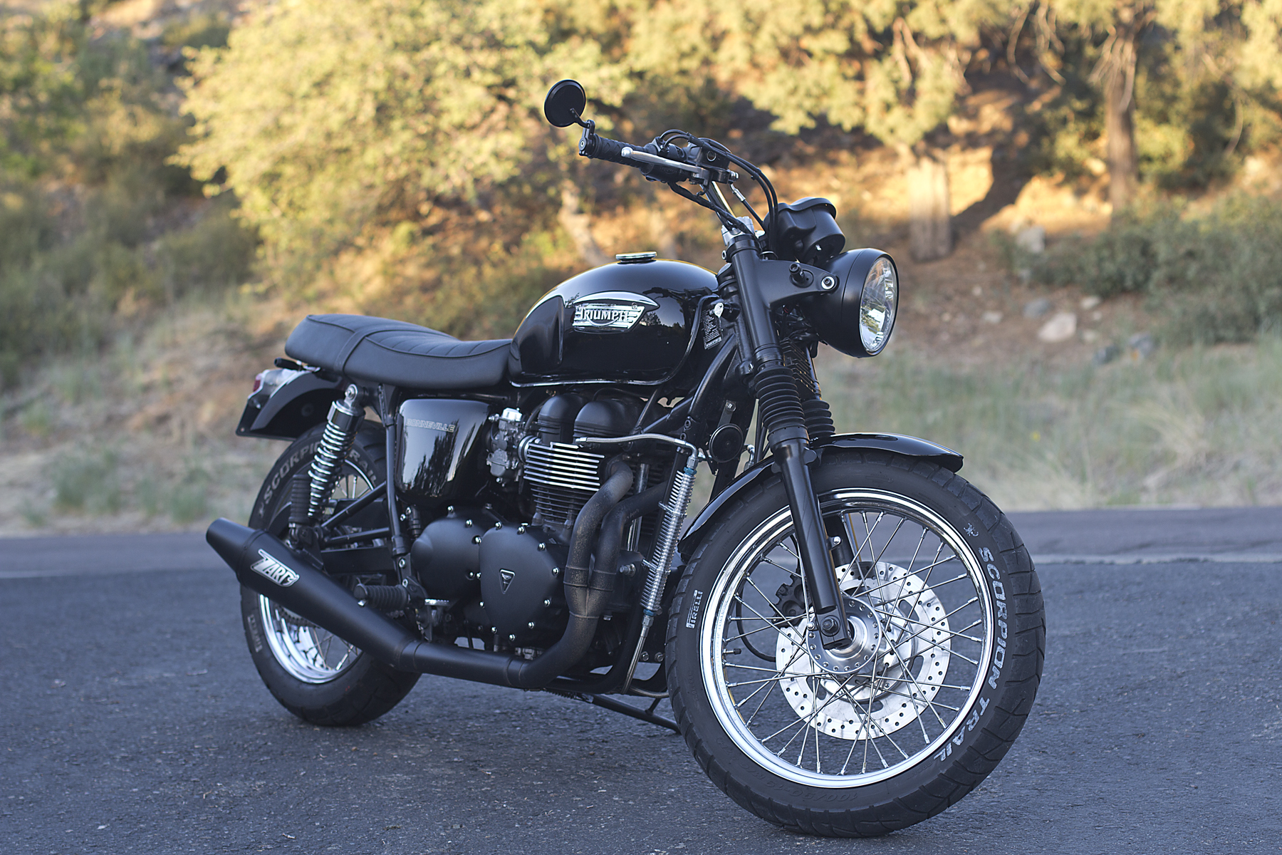 2003 Triumph Bonneville 800  Pics  Specs And Information