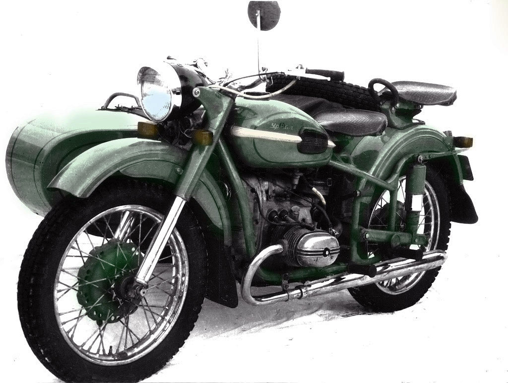 Ural M 66 with sidecar 1974 images #127370