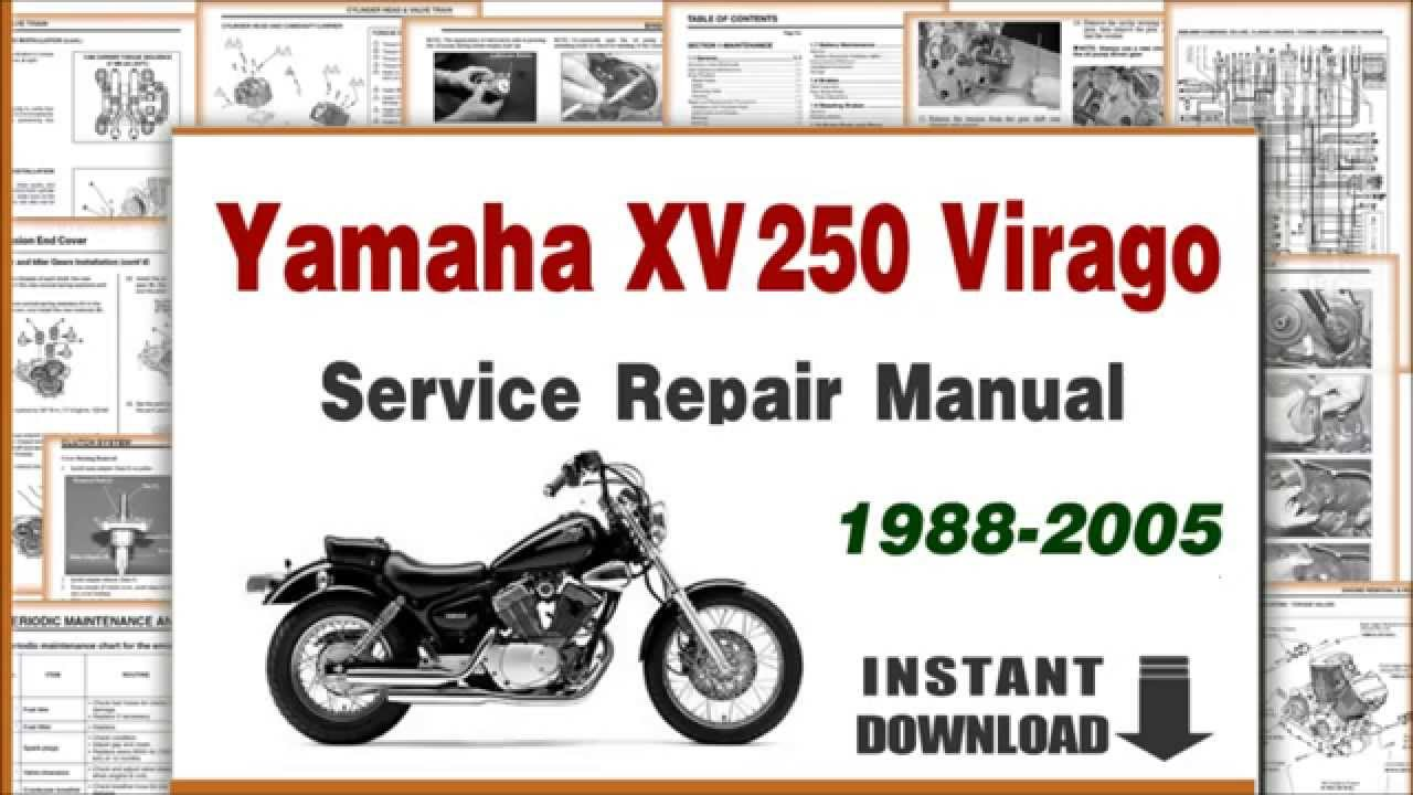 Yamaha XV 250 2005 wallpapers #142838