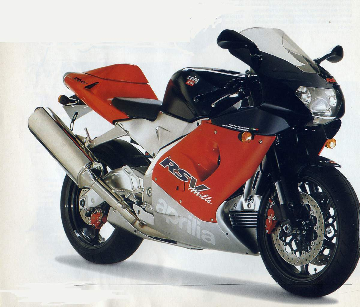 Aprilia RSV Mille 1998 wallpapers #171299
