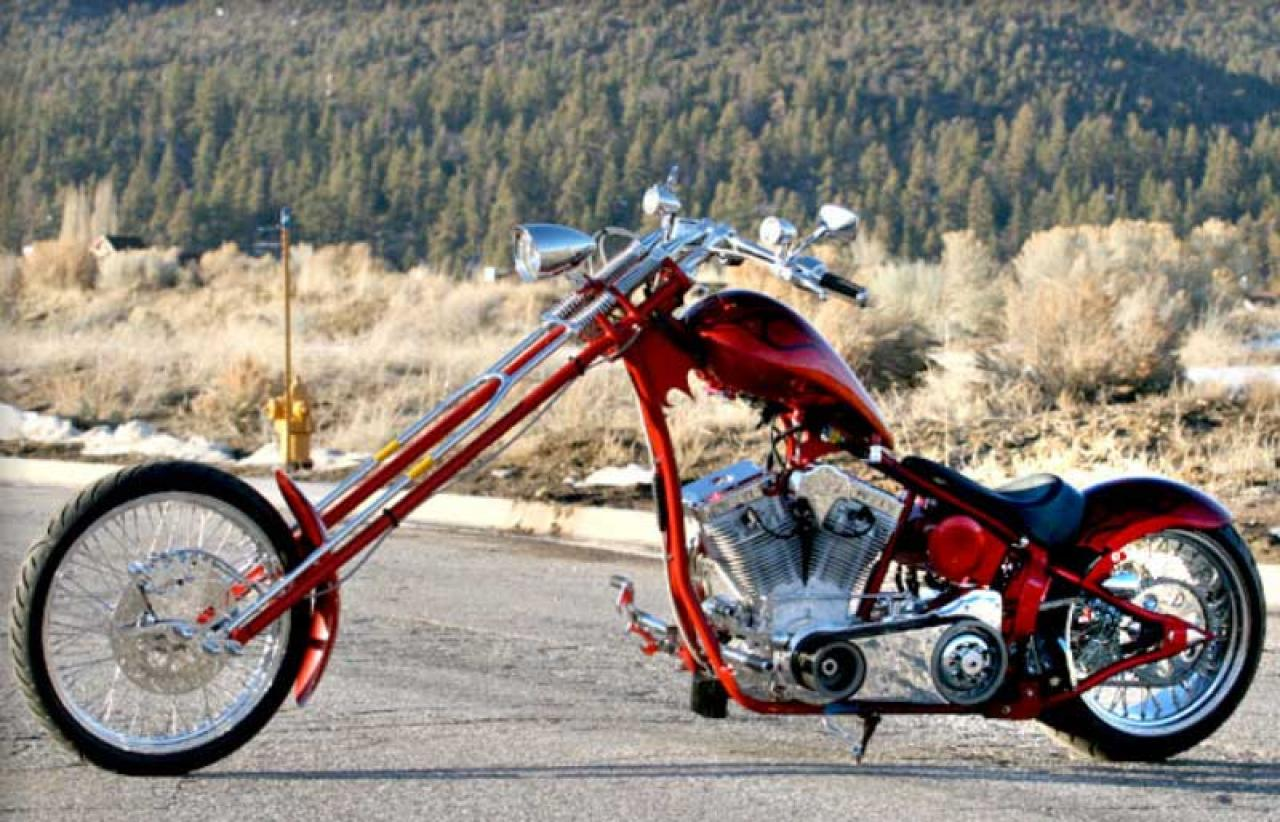 Big Bear Choppers Merc Softail 100 Smooth Carb 2010 images #63772