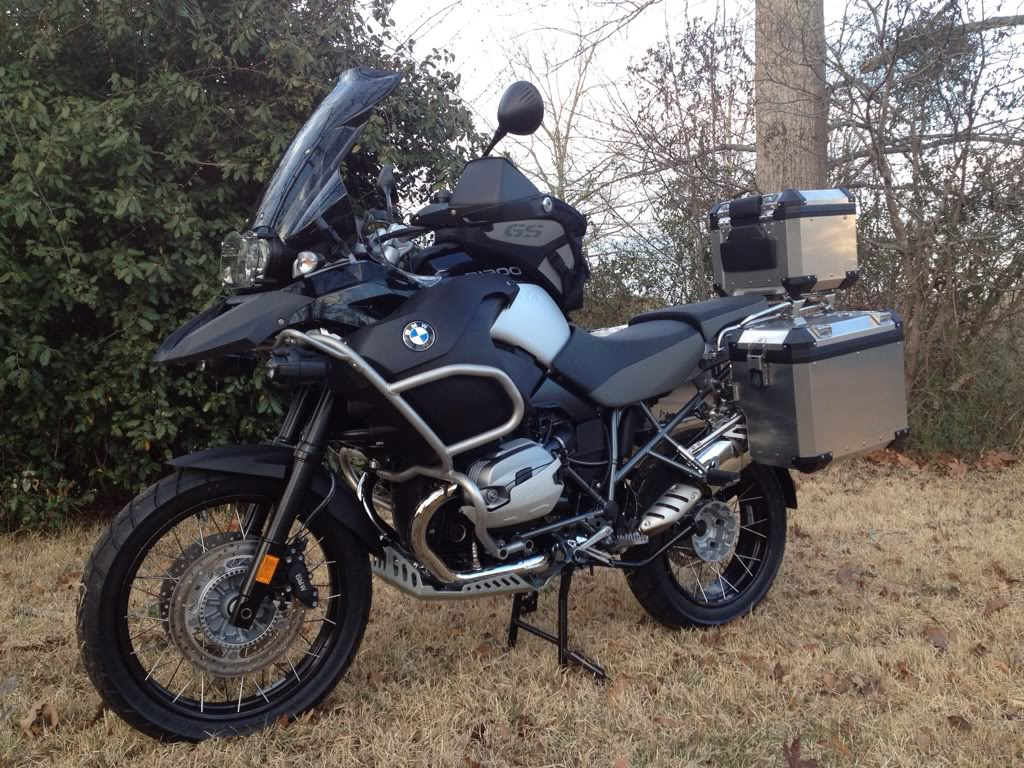BMW R1200GS Adventure Triple Black 2013 images #8627