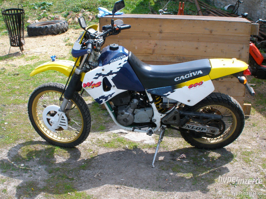Cagiva 600 W 16 images #67255