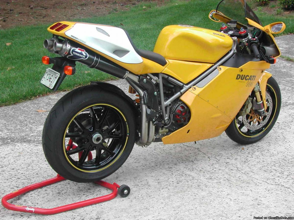 Ducati 998 Matrix wallpapers #11404