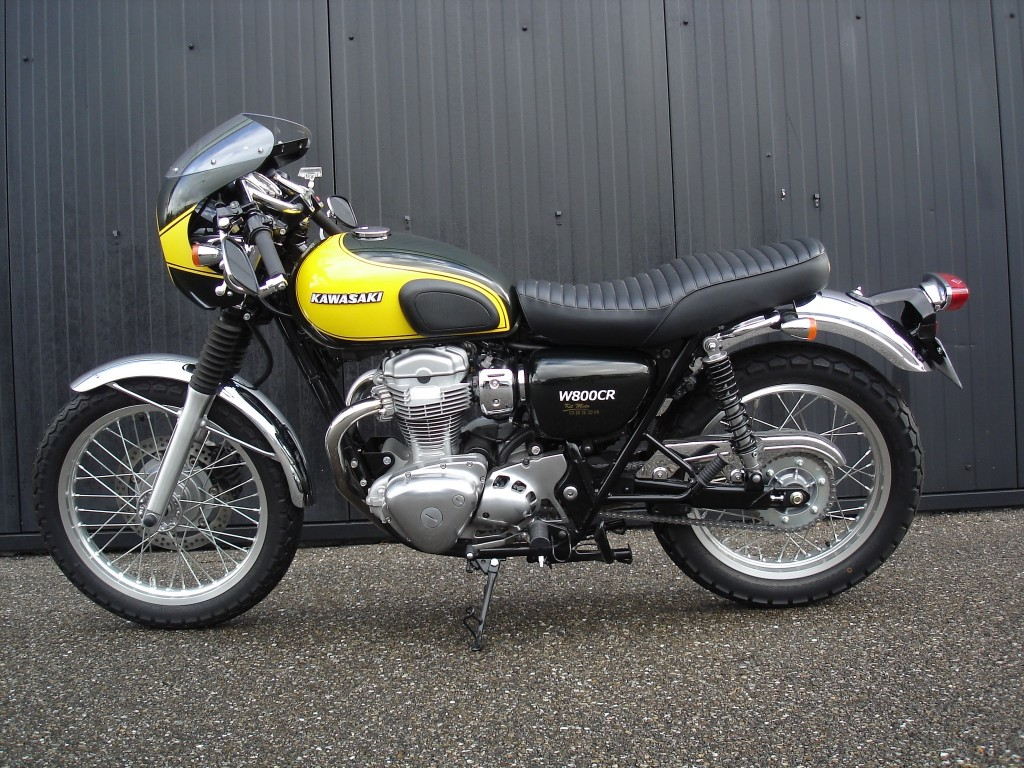 Kawasaki W800 Cafe Style images #86153