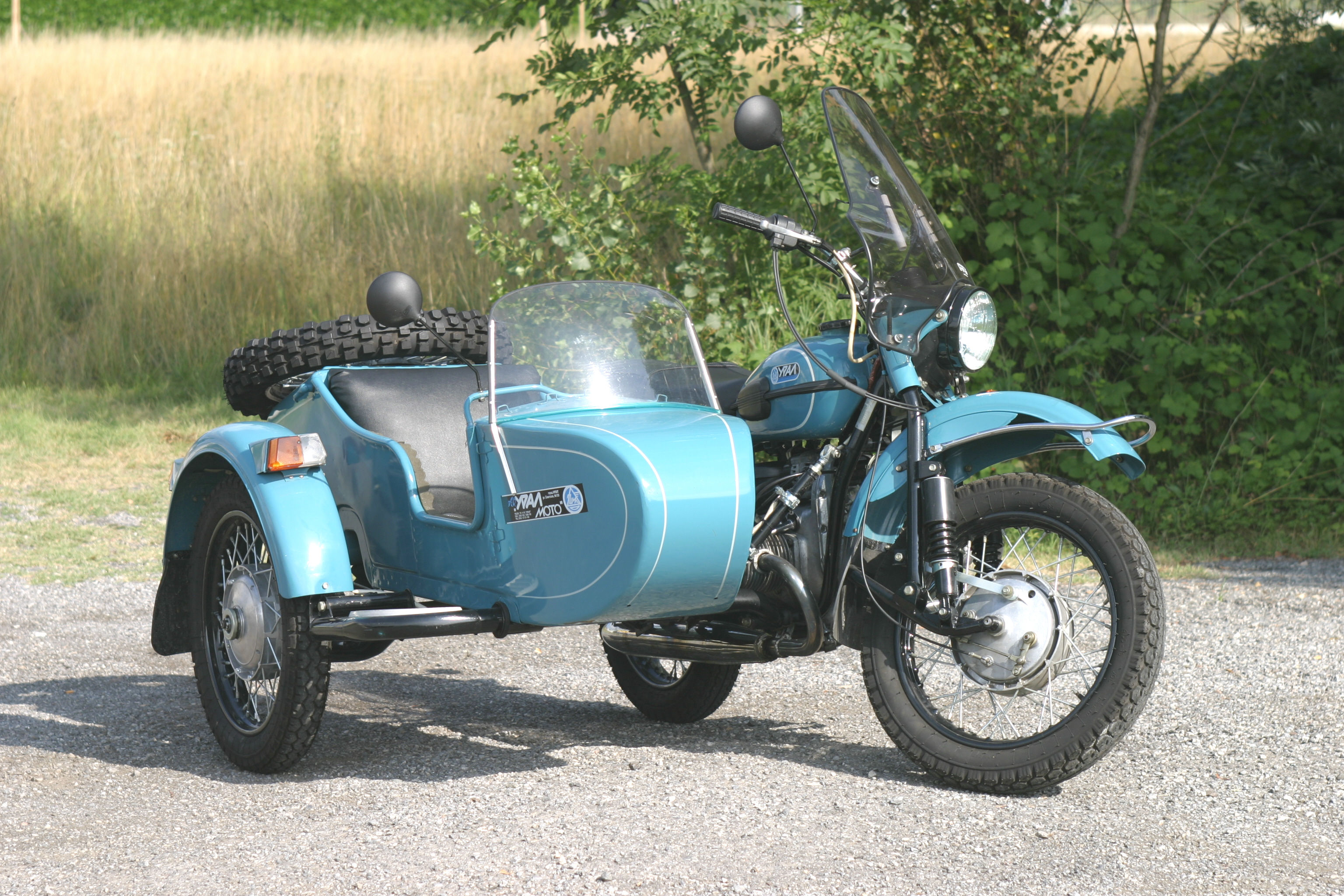 Ural M 66 with sidecar 1974 images #127371