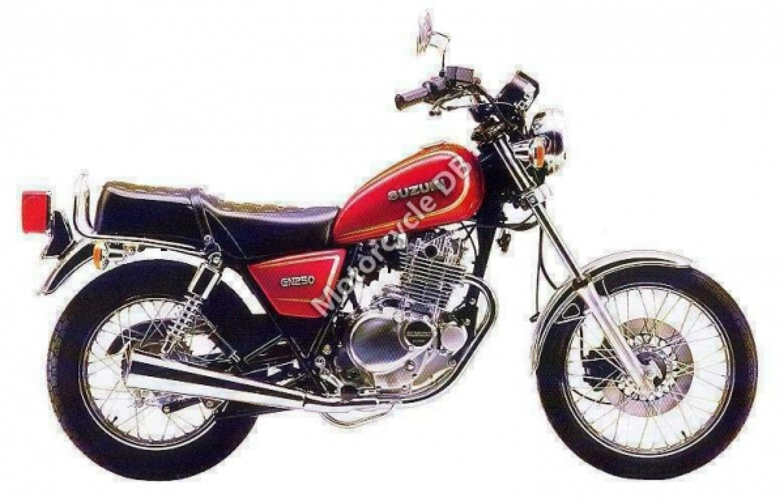 Suzuki GN 250 E 1989 wallpapers #135699