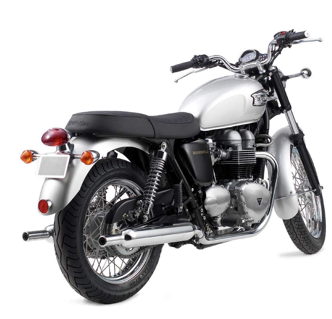 2001 Triumph Bonneville 800  Pics  Specs And Information