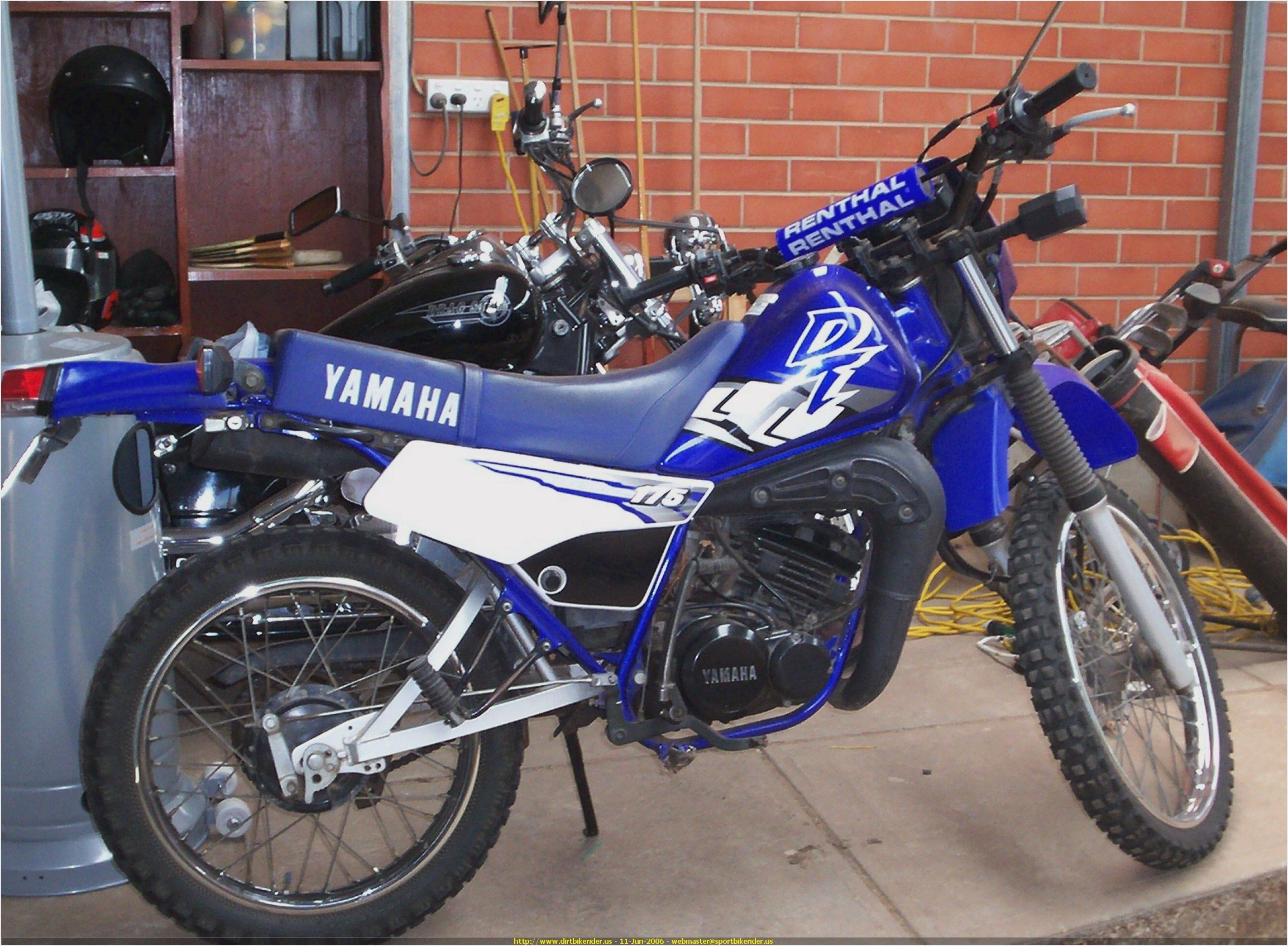 2006 yamaha dt 175 pics specs and information for Yamaha 175 sho