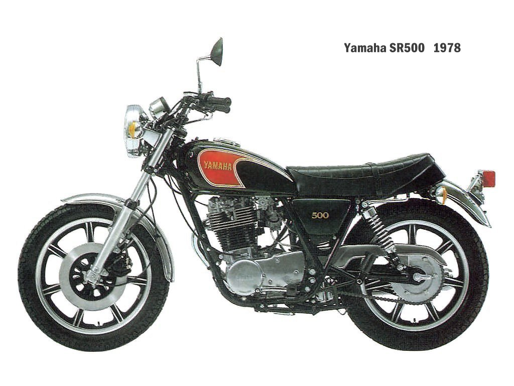 Yamaha SR 250 SE 1982 wallpapers #136098