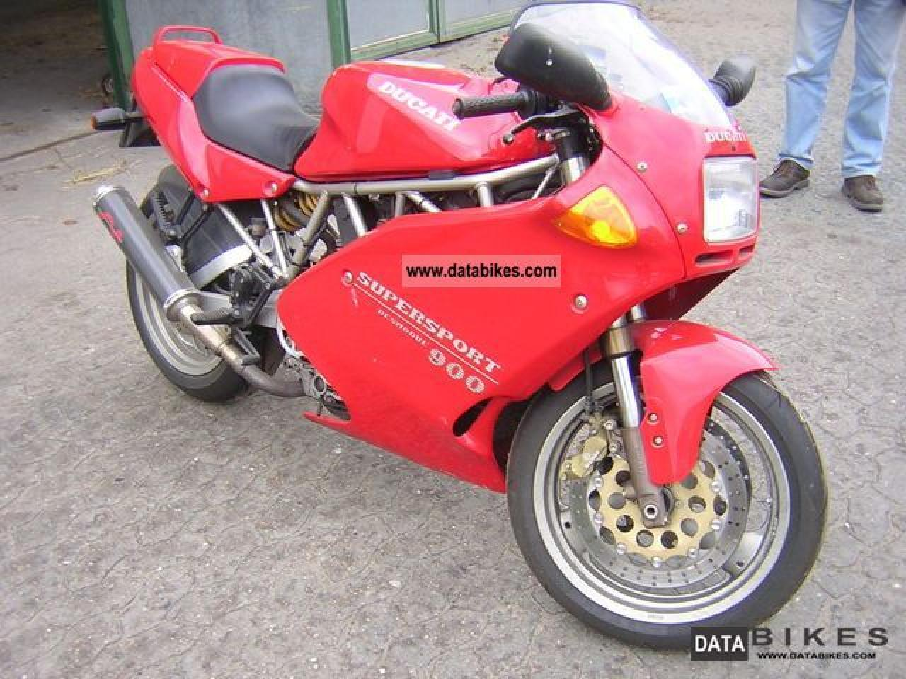 Ducati 900 SS Carenata 2001 wallpapers #11108