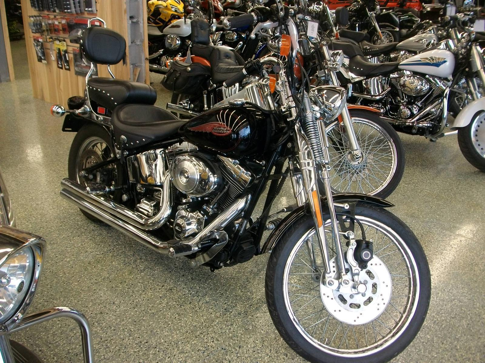 Harley-Davidson FXSTS Springer Softail images #80011