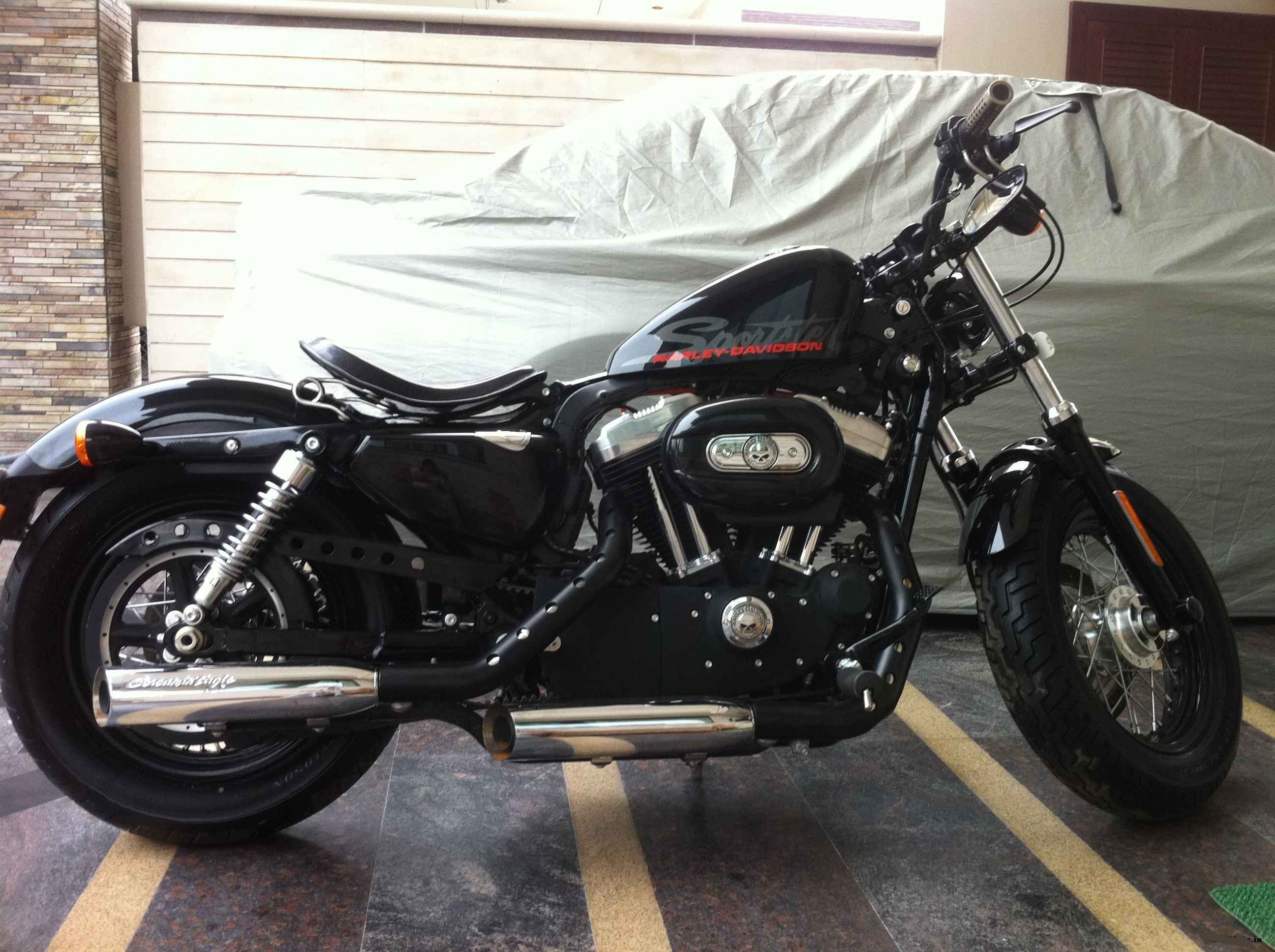 Harley-Davidson XL1200X Forty-Eight pics #161685