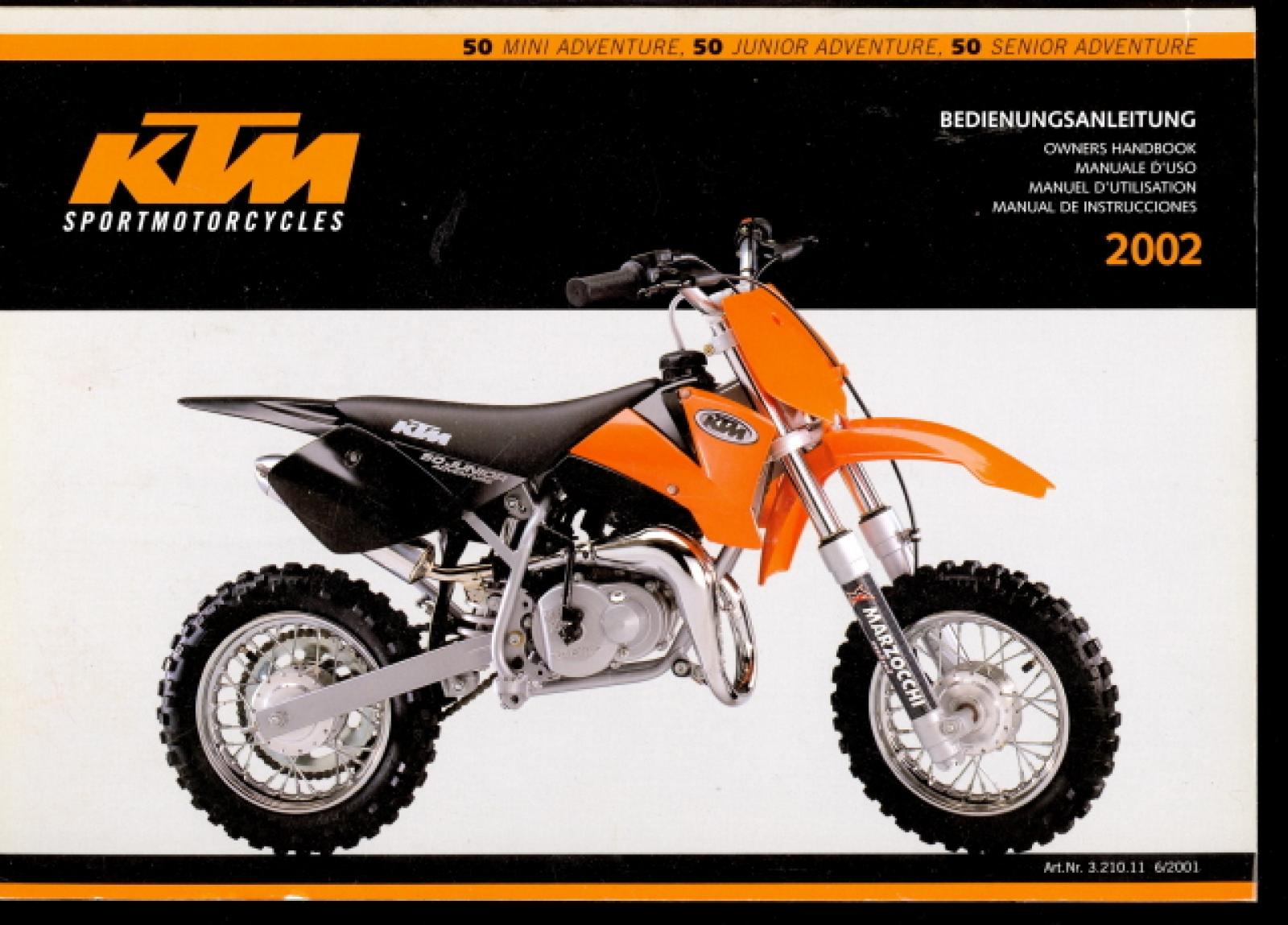 KTM 50 Junior Adventure wallpapers #134807