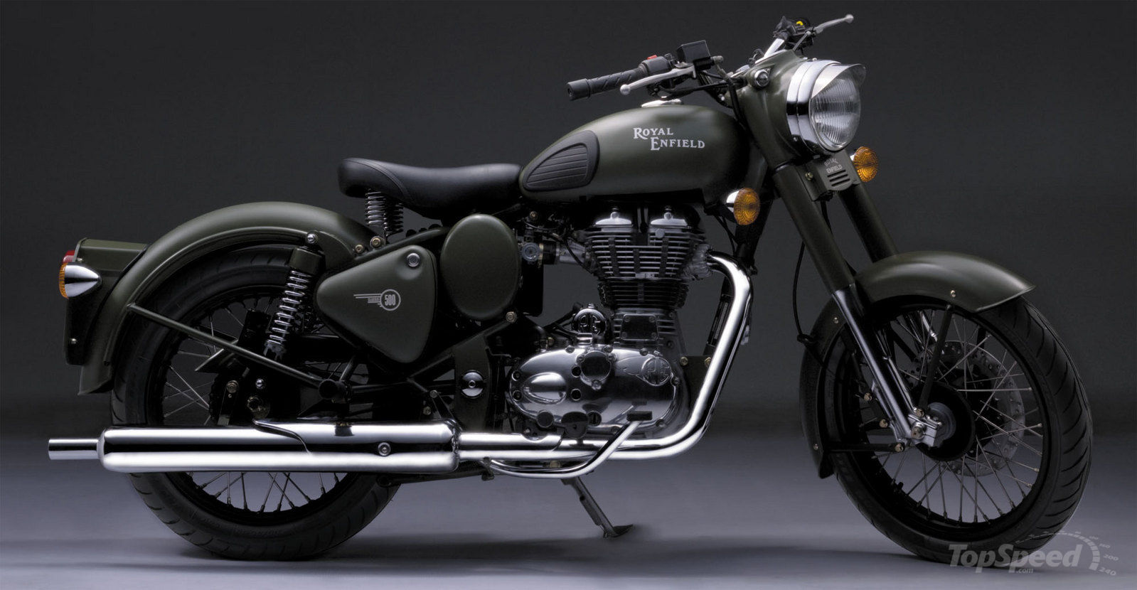 2004 Royal Enfield Bullet 500 Army Pics Specs And Information