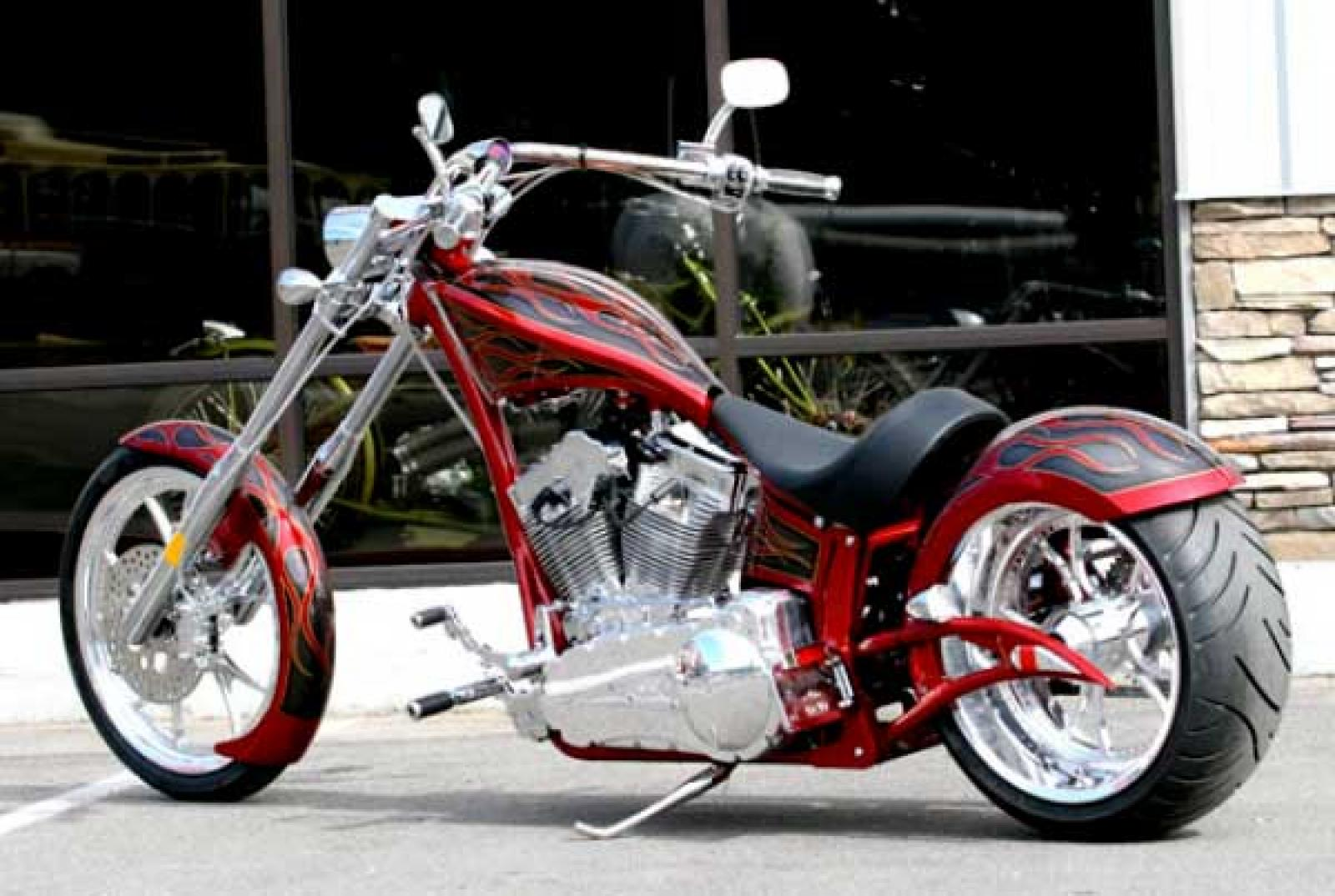 Big Bear Choppers Paradox 114 EFI X-Wedge images #63475