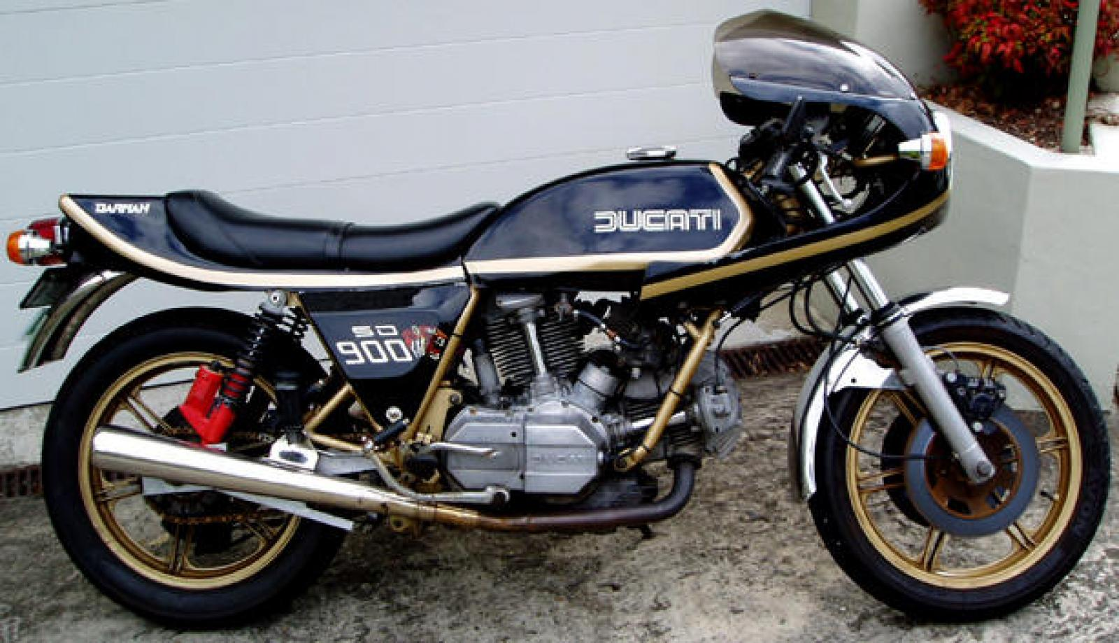 Ducati 900 SS Darmah 1981 wallpapers #16480