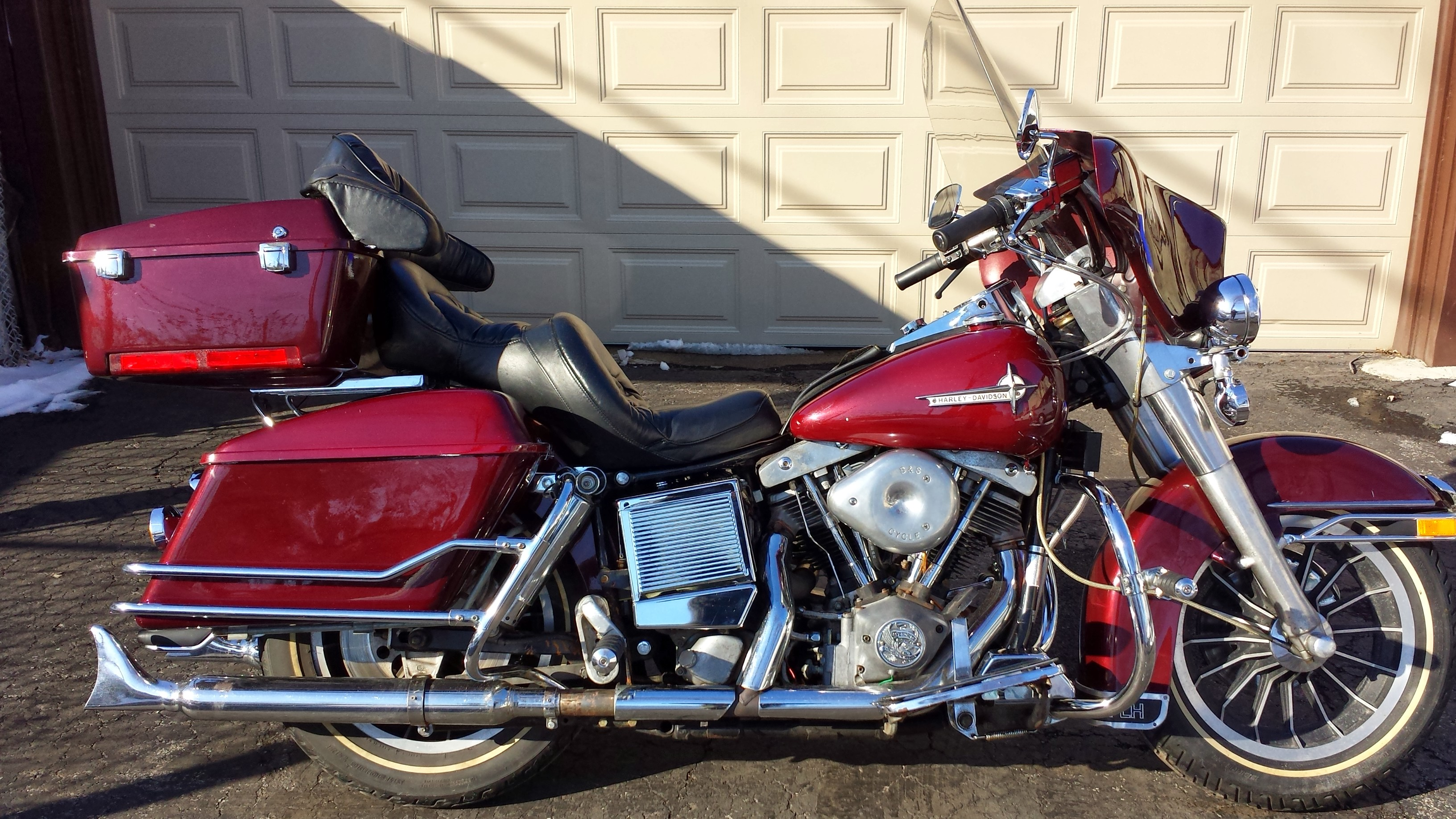 Harley-Davidson FLHTC 1340 Electra Glide Classic 1985 pics #15281