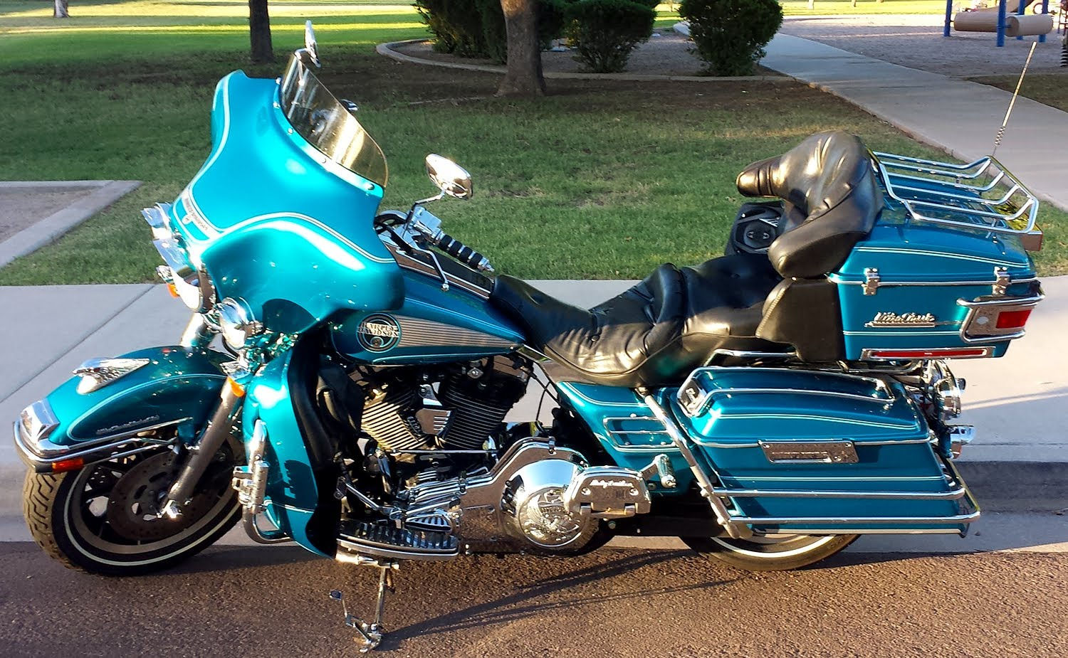 Harley-Davidson FLHTC 1340 Electra Glide Classic 1994 pics #16380
