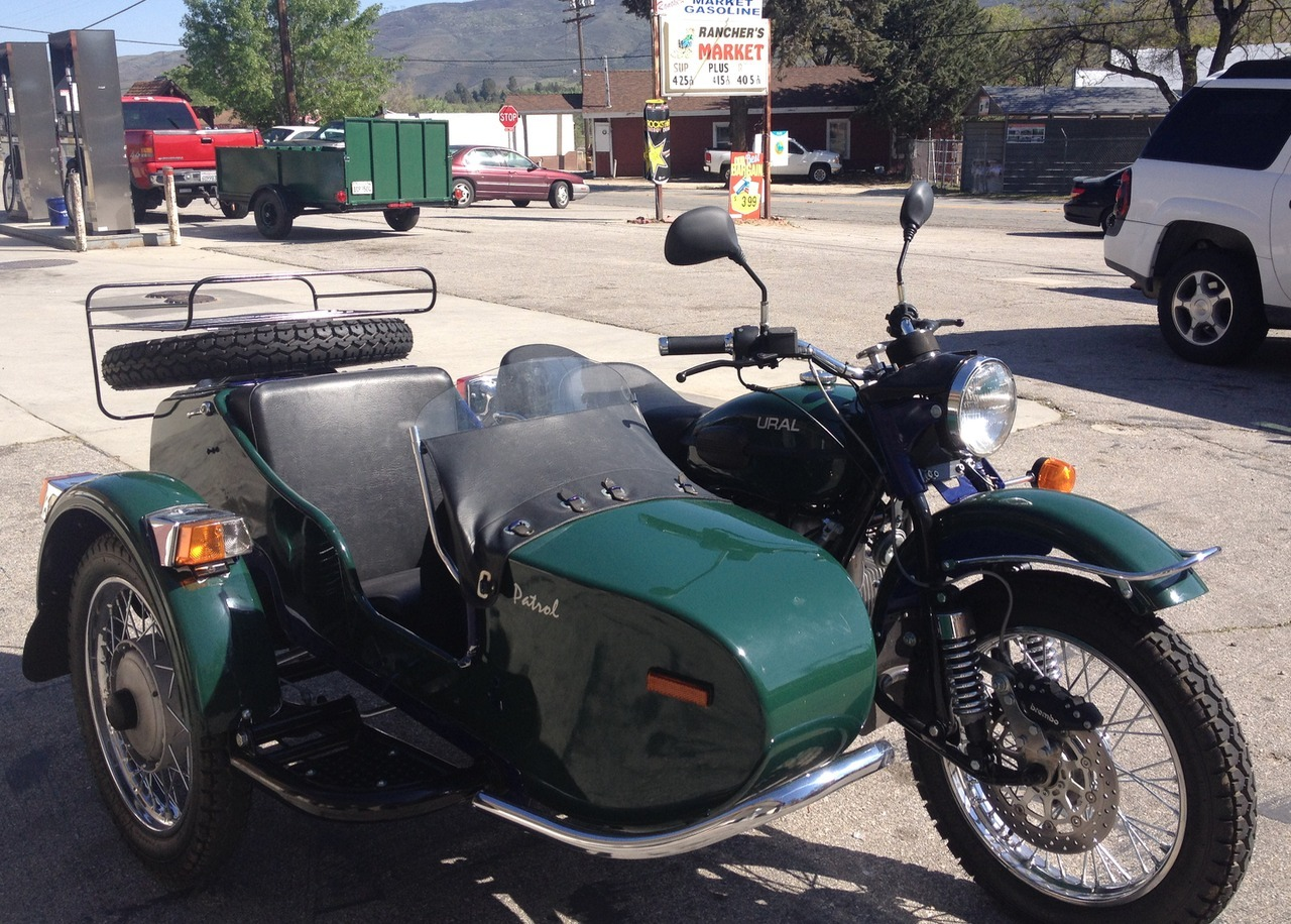 Ural M-63 with sidecar 1976 images #145519