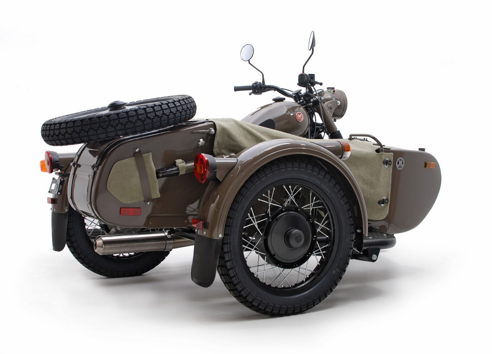 Ural M 66 with sidecar 1974 images #127374