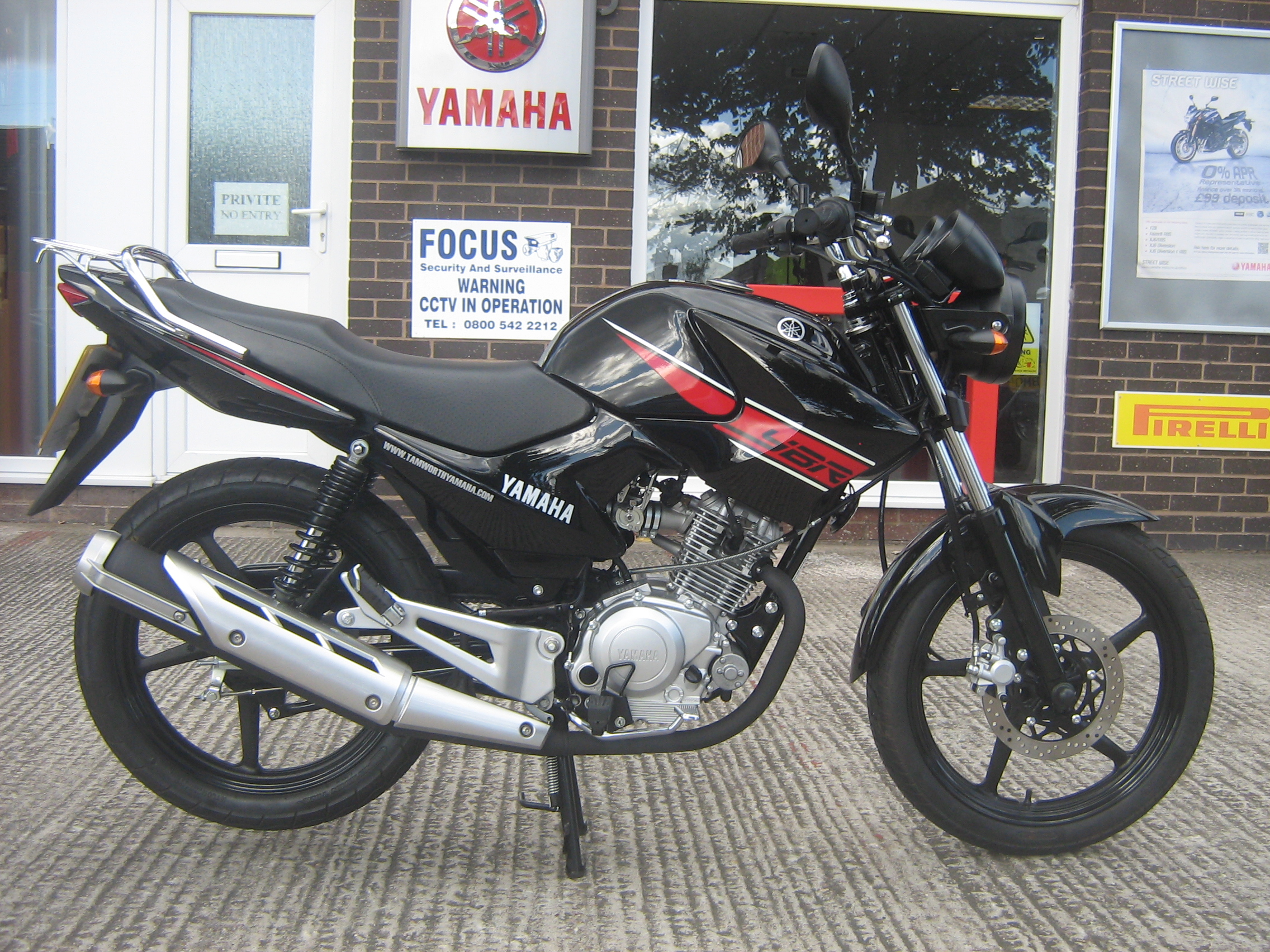 2012 yamaha ybr 125 pics specs and information. Black Bedroom Furniture Sets. Home Design Ideas