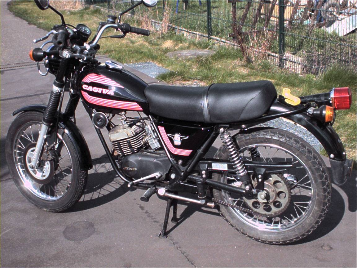 Cagiva SST 350 1980 images #66567