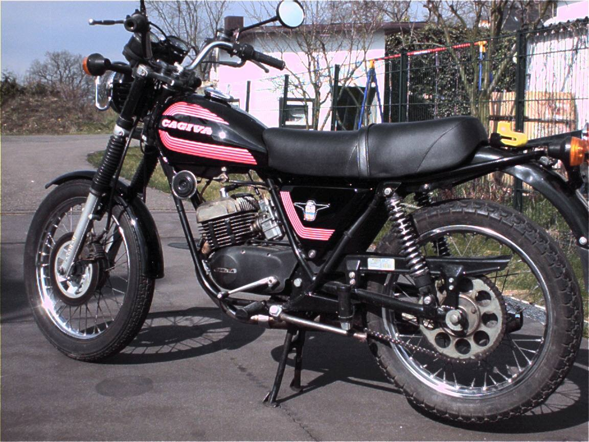 Cagiva SST 350 Chopper 1981 images #68434