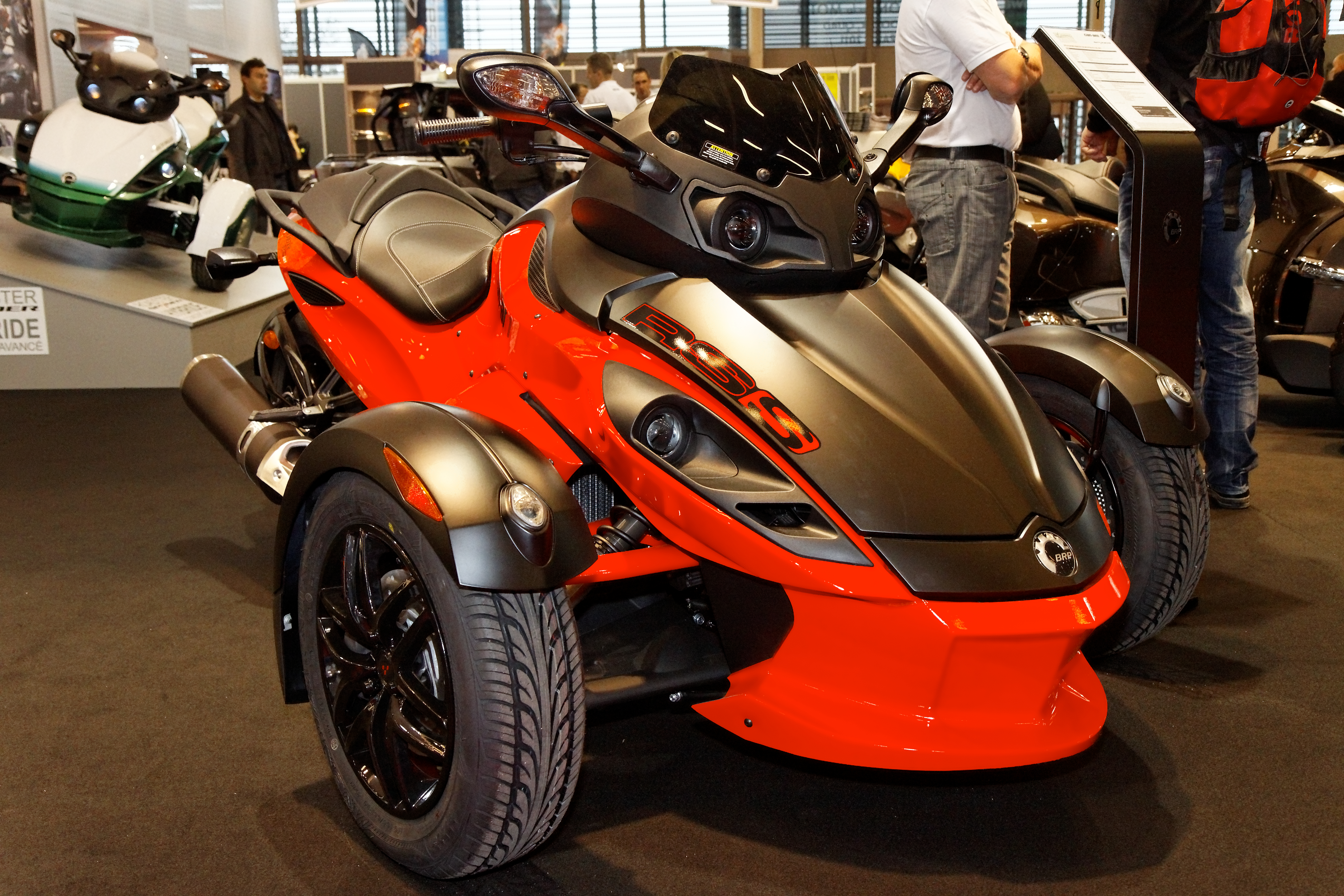 Can-Am Spyder RS-S 2011 images #94393