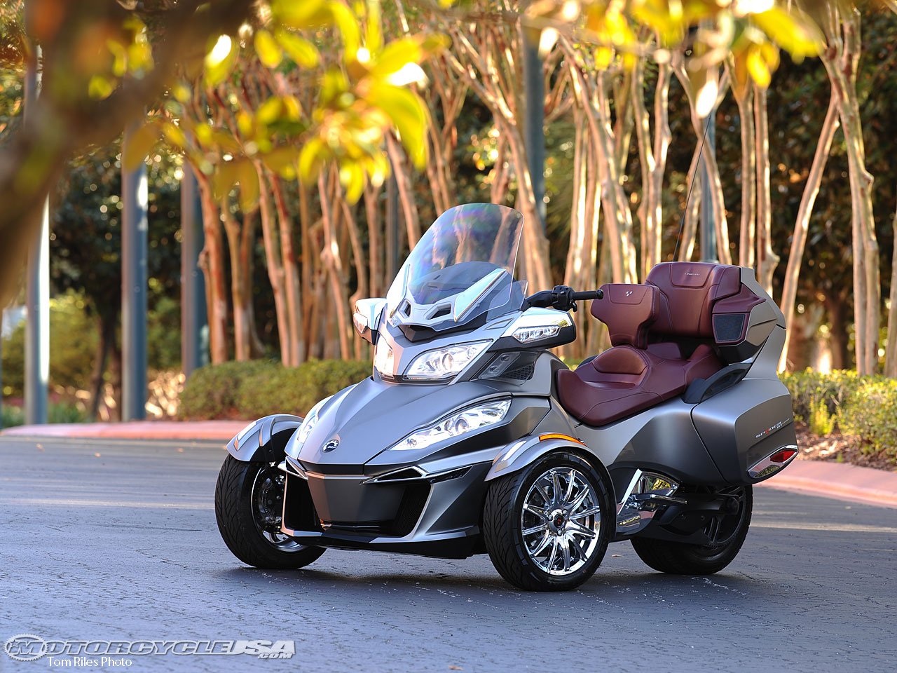 Can-Am Spyder ST 2014 images #68534