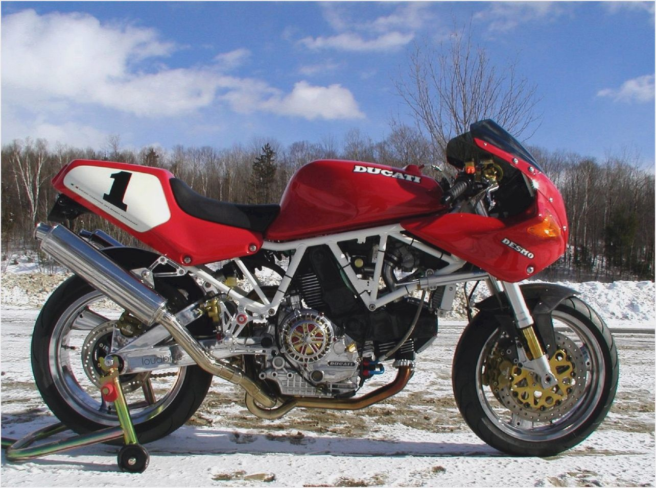 Ducati 900 SS 1998 wallpapers #163268