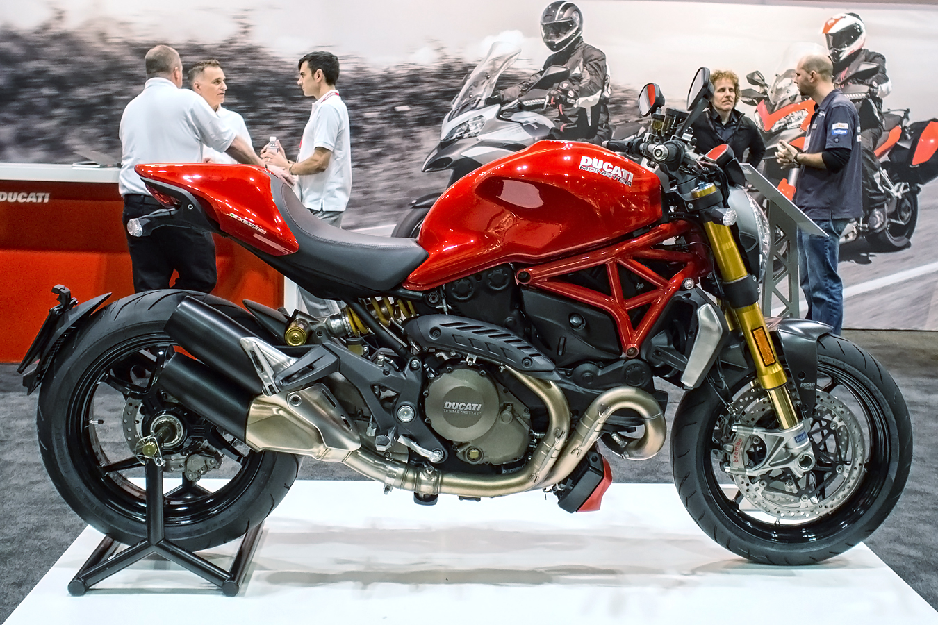 Ducati Monster 1200 2015 wallpapers #134116
