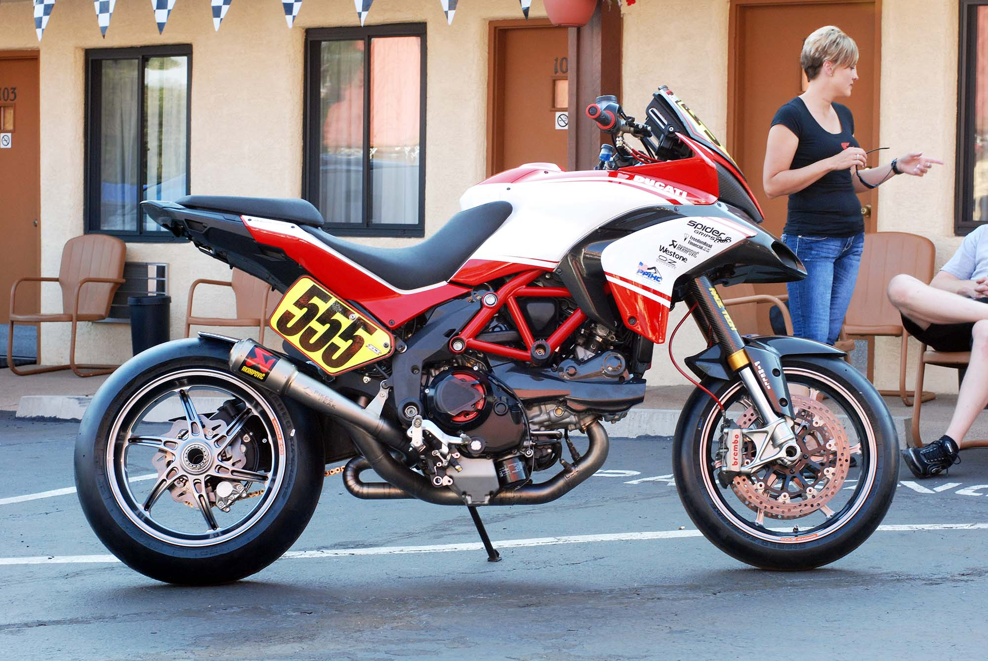 Ducati Multistrada 1200 S Pikes Peak Edition images #80013