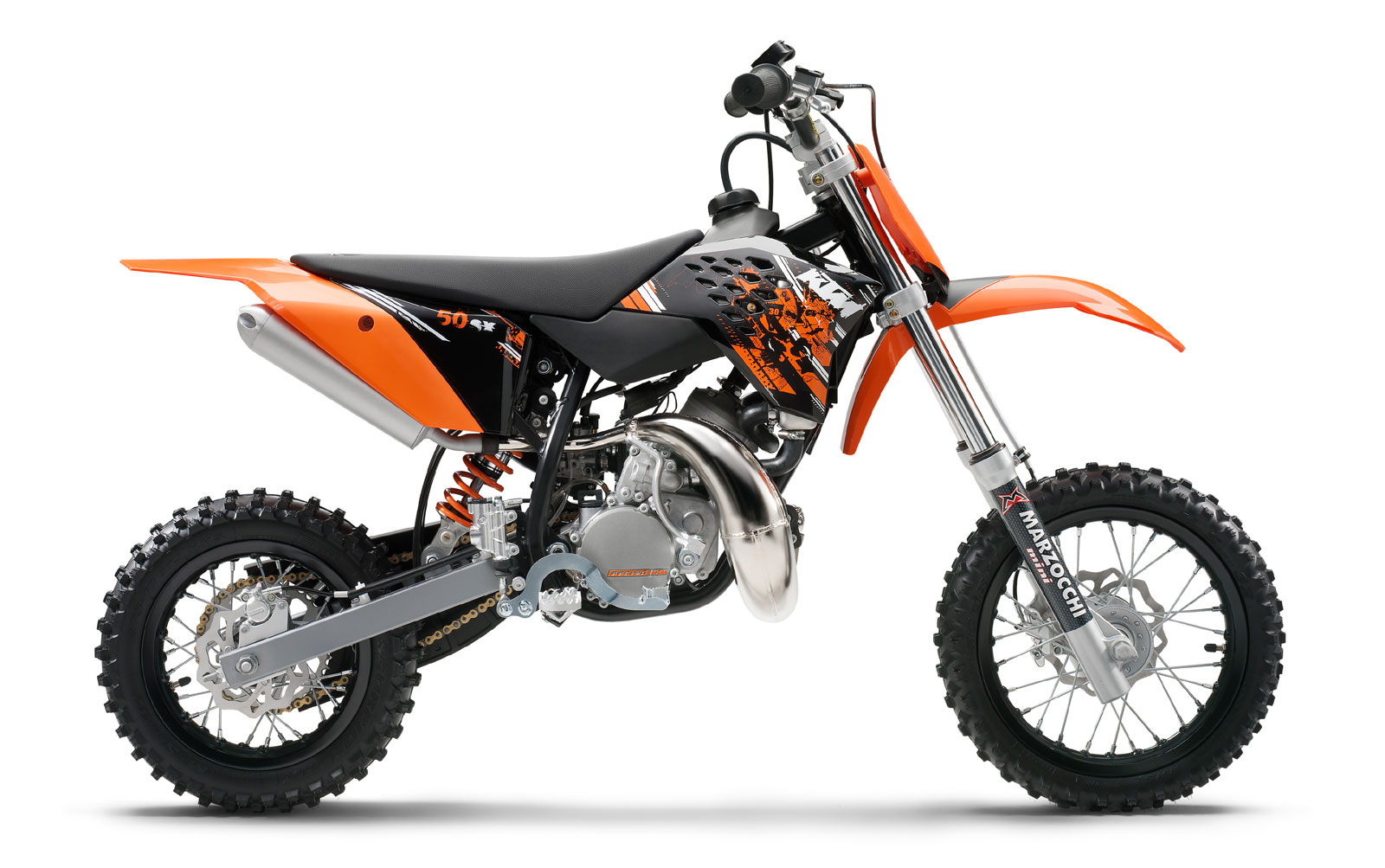 KTM 50 SX Junior 2008 images #86457
