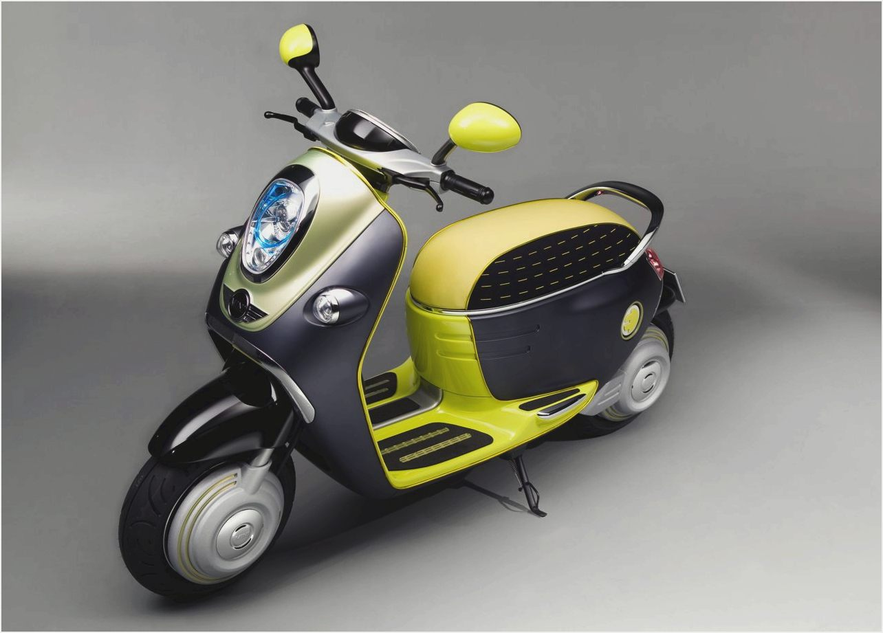 MINI Scooter E Concept images #106870