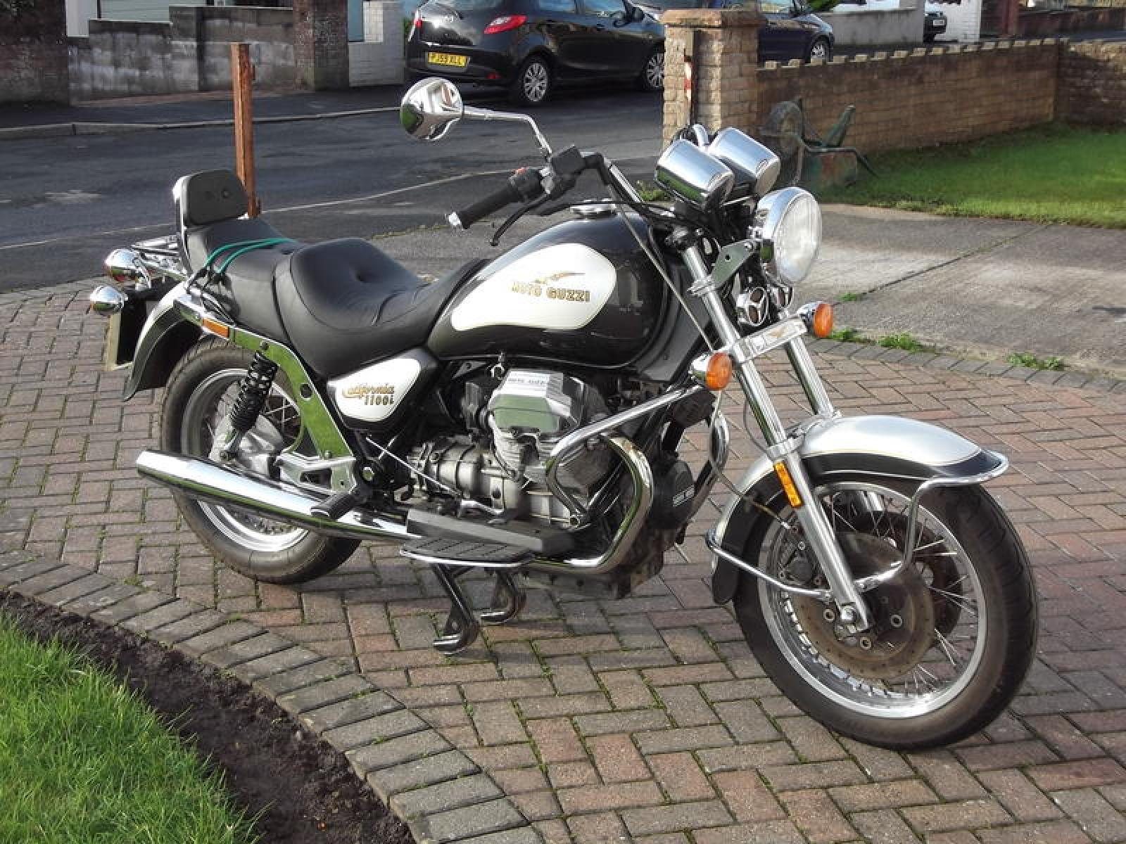 Moto Guzzi California 1100 Injection 1995 images #109337