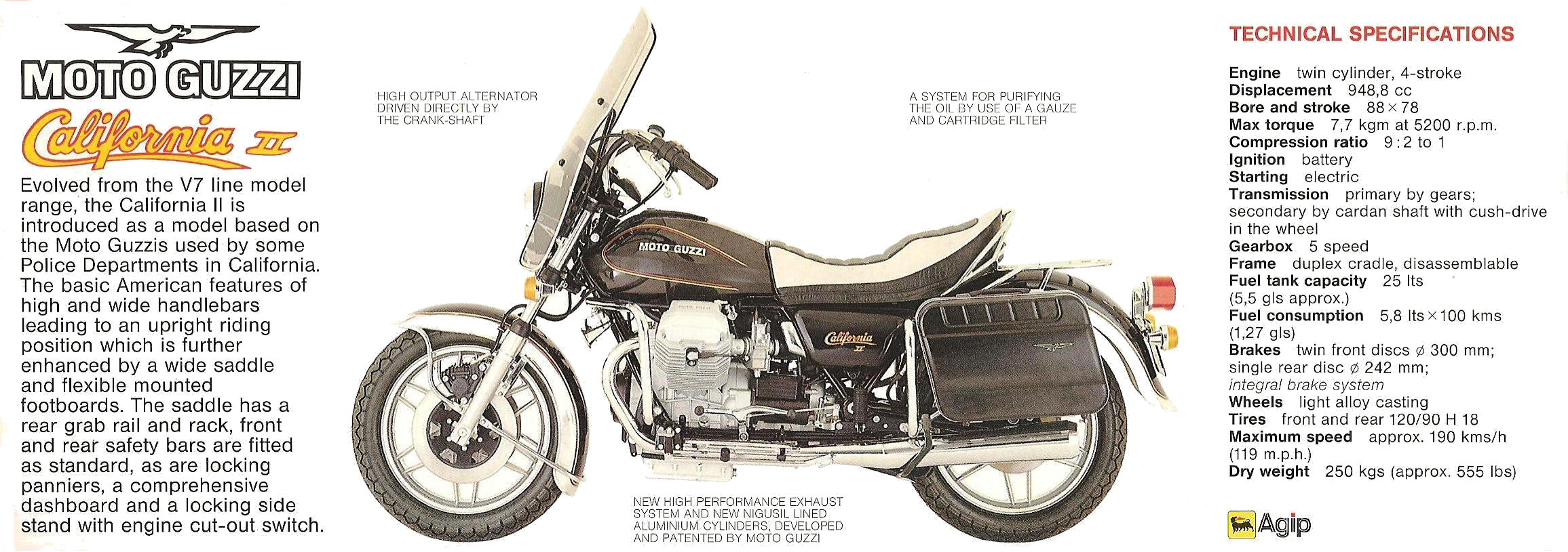 Moto Guzzi California II 1983 images #107469