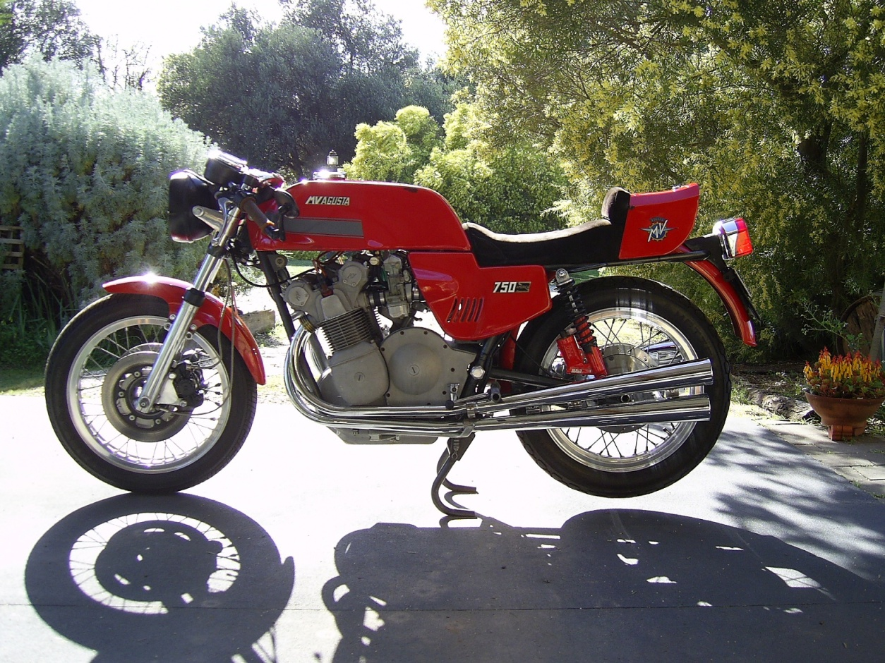 MV Agusta 500 SS 1976 images #113274