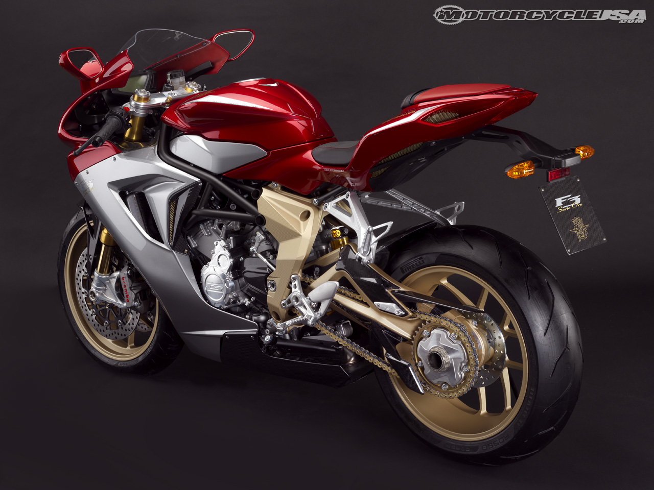 MV Agusta F3 Serie Oro 2012 images #114357