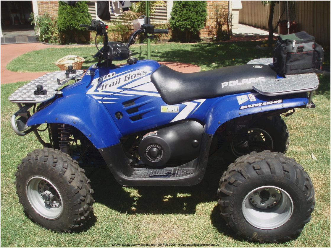 Polaris Trail Boss 330 2006 images #169522