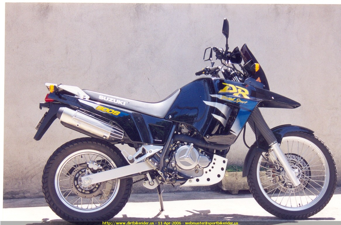 1998 suzuki dr 800 s pics specs and information. Black Bedroom Furniture Sets. Home Design Ideas