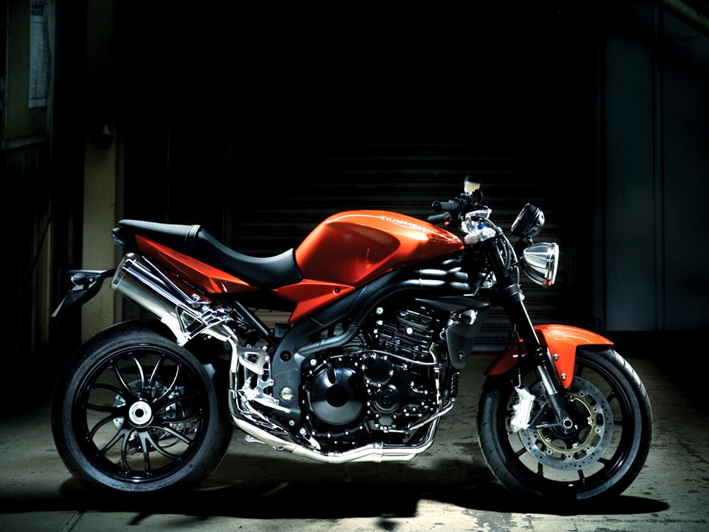 Triumph Speed Triple 1050 2008 wallpapers #130745