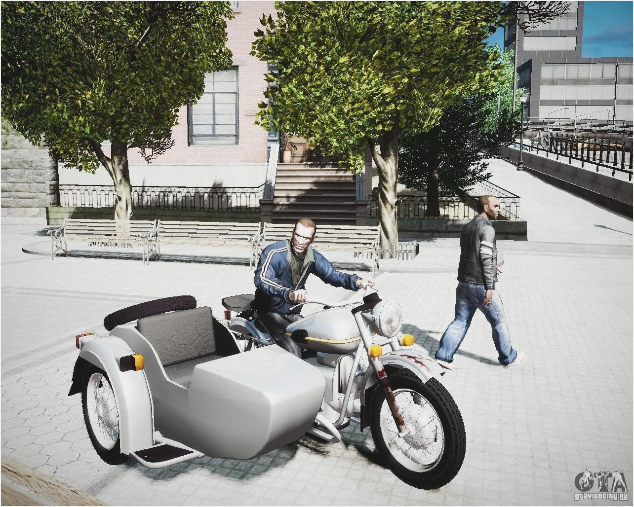 Ural M-63 with sidecar 1973 images #127096