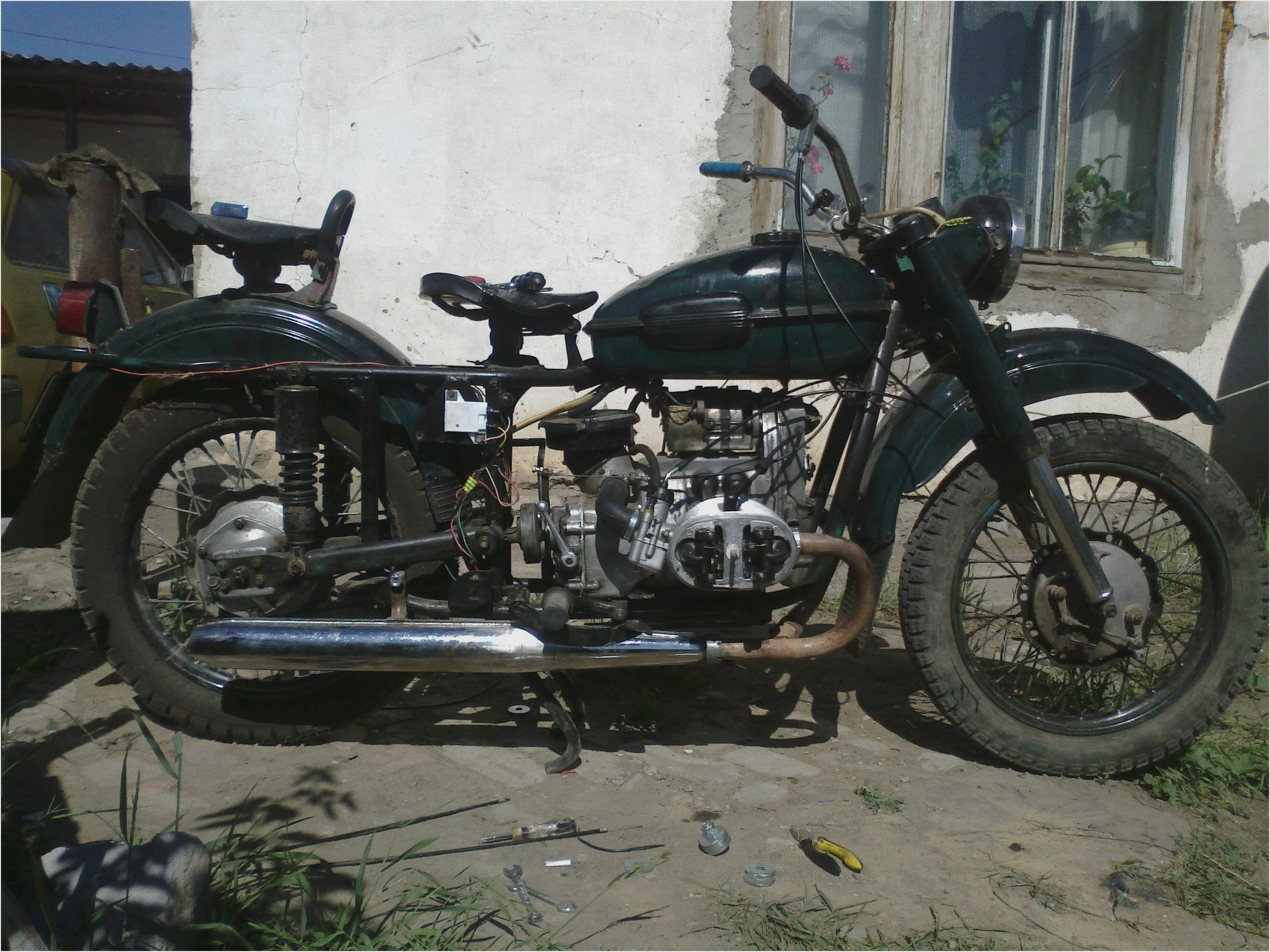 Ural M-63 with sidecar 1976 images #145520